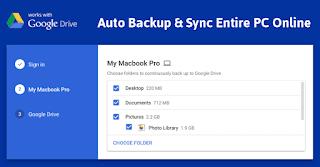 برنامج, حفظ, الملفات, ونسخها, احتياطيا, Google ,Backup ,and ,Sync, اخر, اصدار