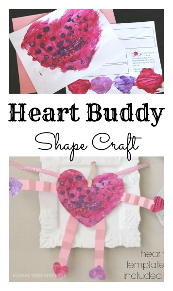 heart art and craft