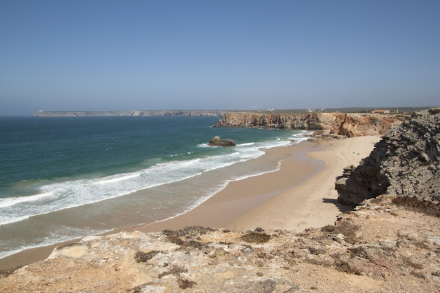 Sagres-spiaggia