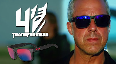 Titus Welliver in Transformers: Age of Extinction wearing Oakley Holbrook Sunglasses