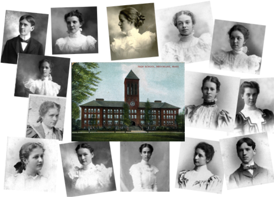 Montage of 1898 BHS Students