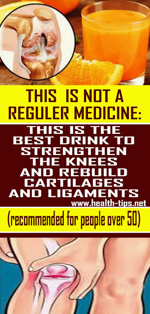 The Best Drink to Strengthen the Knees To Avoid Knee Pain and Rebuild Cartilages and Ligaments#NATURALREMEDIES