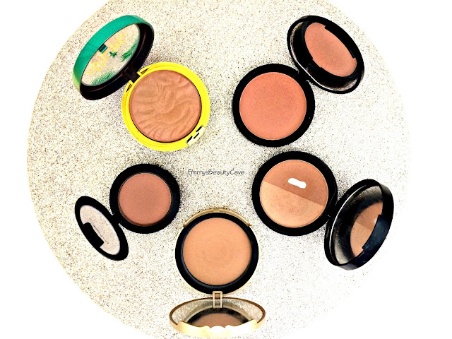 Bronzer for pale skin, bronzer swatches, matte bronzers