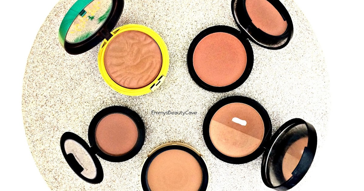 my top 5 bronzers includes swatches emmysbeautycave. Black Bedroom Furniture Sets. Home Design Ideas
