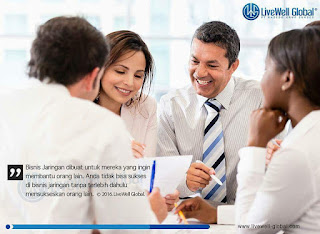 Bisnis MLM dan Networking LiveWell Global (LWG)