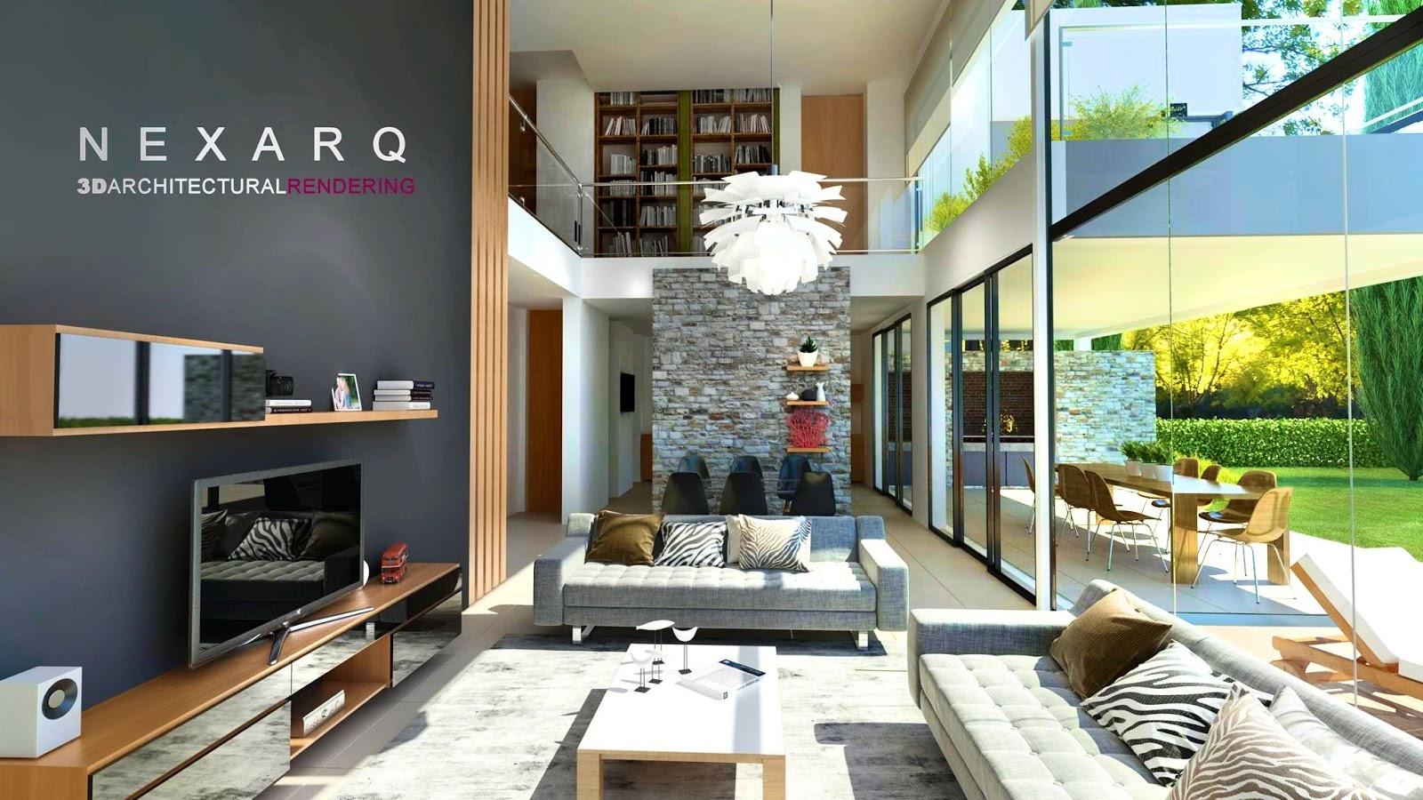 Renders arquitectura 3d animaci n y video nexarq 3d for Paginas de diseno de interiores