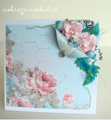 Niebiesko różowa karteczka i inne