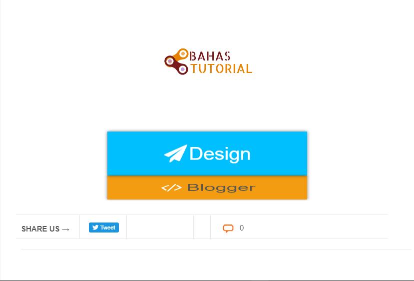 Cara Membuat Button Download Dan Demo 3D Flip Di Blogger
