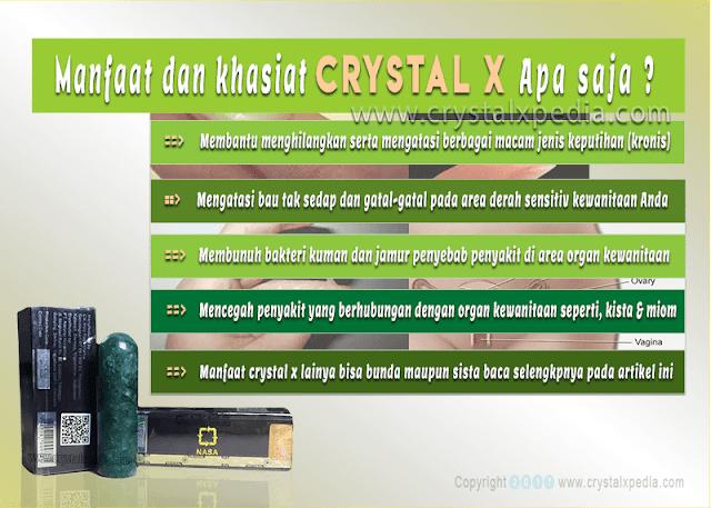ilustrasi manfaat crystal x