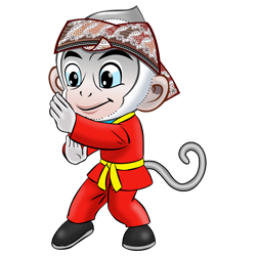 Logo dan Lambang Cabang Olahraga PON Jabar 2016 Wushu