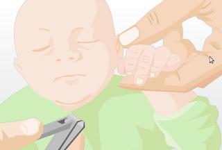 potong kuku bayi sebelum 40 hari