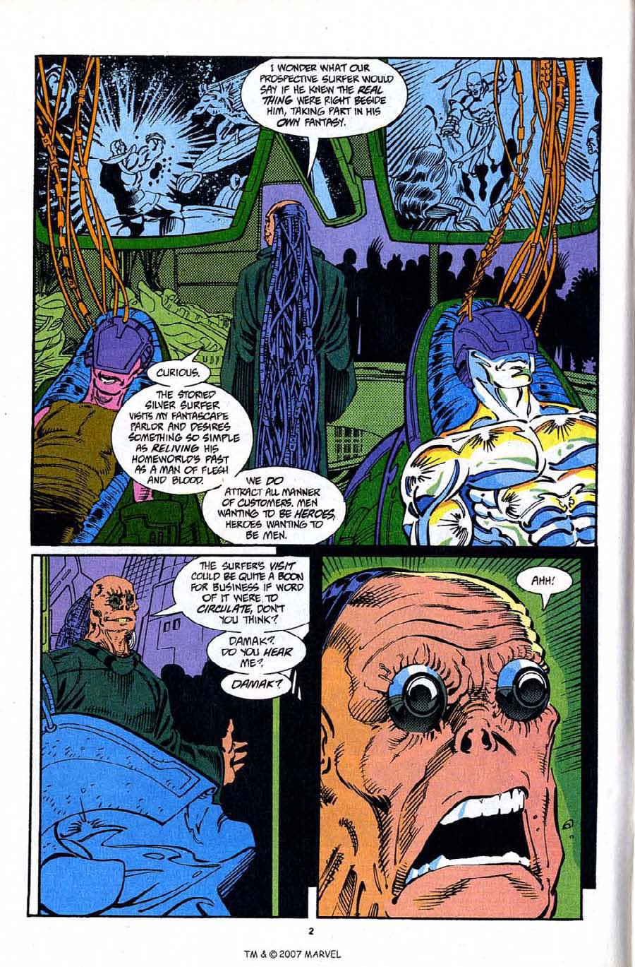 Read online Silver Surfer (1987) comic -  Issue #92 - 4