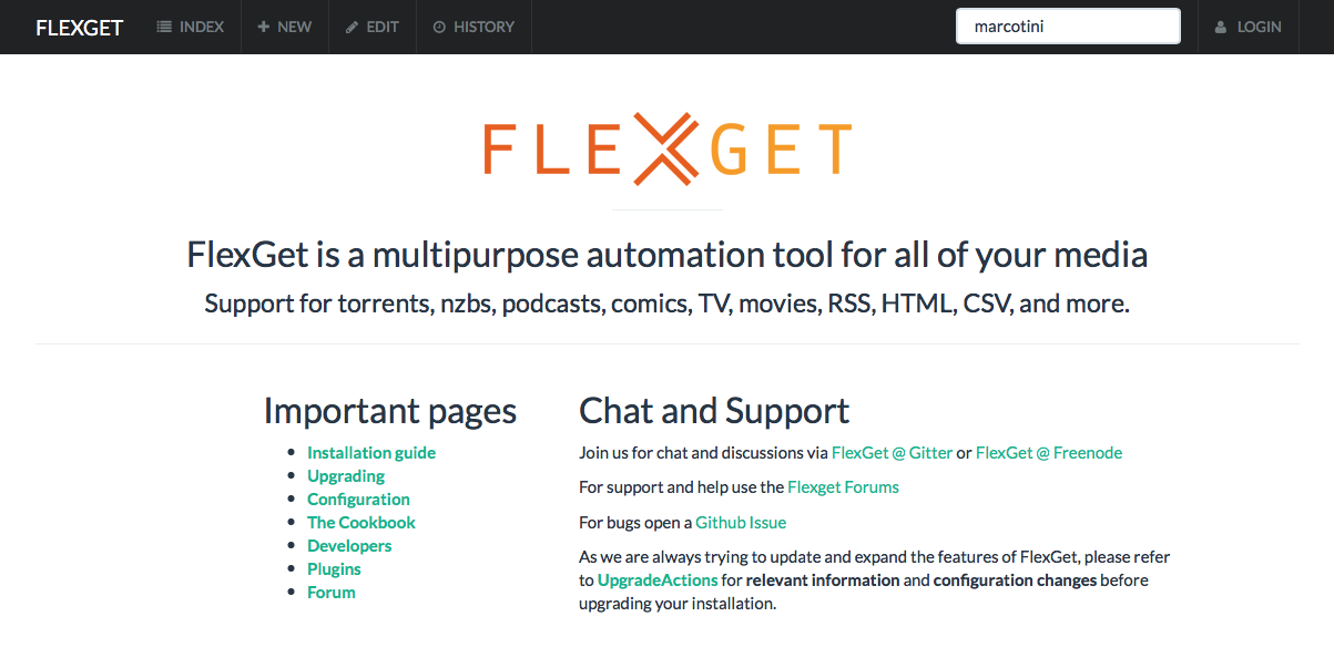 Come installare FlexGet su Raspberry Pi
