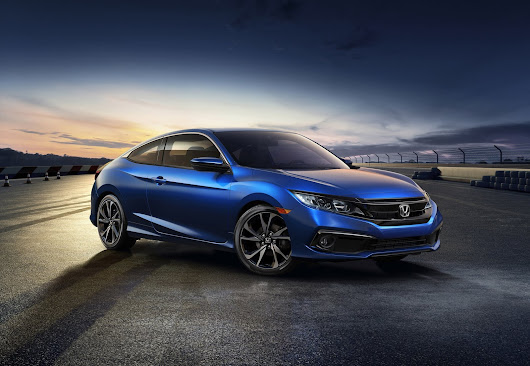 With Refreshed Styling, New Sport Trim and Standard Honda Sensing, Honda Keeps Its Foot to the Floor by Introducing the 2019 Civic Sedan and Coupe