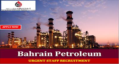 Latest Jobs At Bahrain Petroleum Company