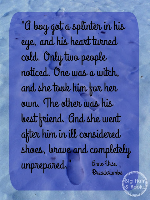 Quote from Breadcrumbs by Anne Ursu #middlegrade #mustread