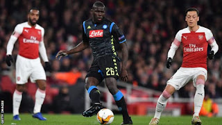 Koulibaly has made 149 appearance for Napoli since joining in 2014