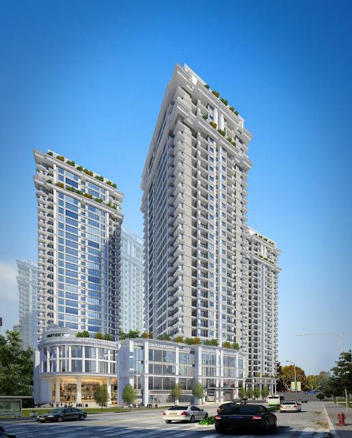 Phối cảnh dự án chung cư Bel Air Hà Nội