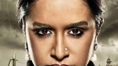 फिल्म हसीना में इंटेस लुक में दिखीं श्रद्धा कपूर
