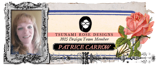 Tsunami Rose DT Project: Altered flower pot and plant label stake