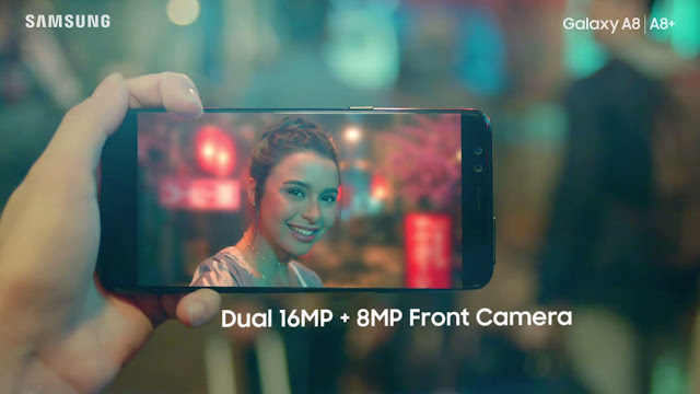 Yassi Pressman newest brand ambassador for Samsung Galaxy A8 and A8+