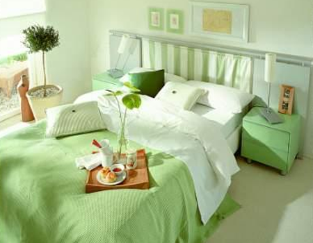 Desain Interior Kamar Tidur Utama 4x3  60 desain kamar tidur warna hijau minimalis modern simpel