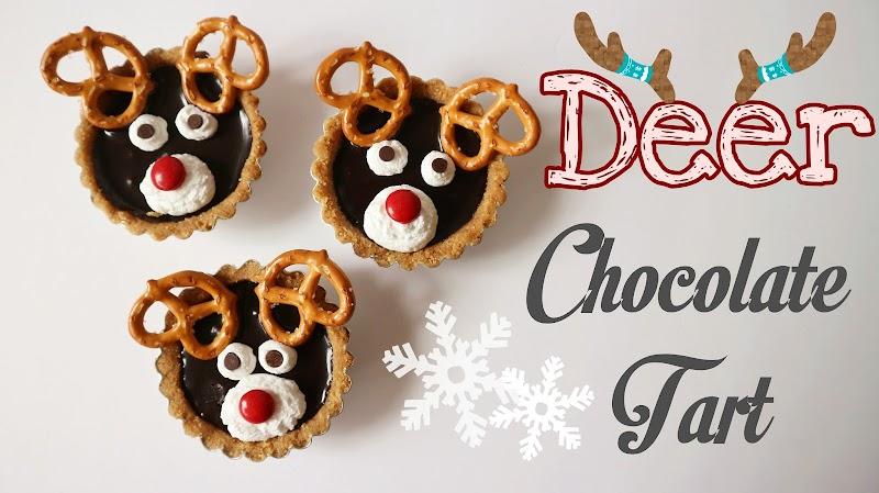 Deer Chocolate Tart 馴鹿朱古力撻