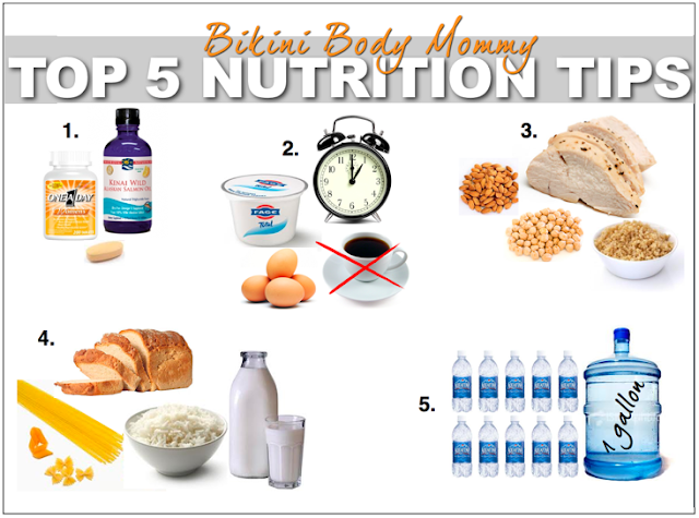 Bikini Body Mommy Top 5 Nutrition Tips for LOSING your POOCH