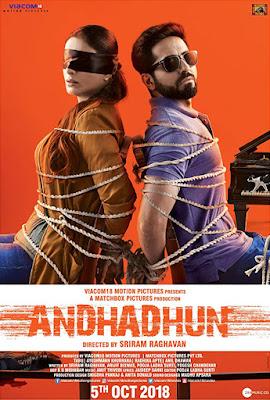 Andhadhun 2018 Hindi 720p BluRay 1GB
