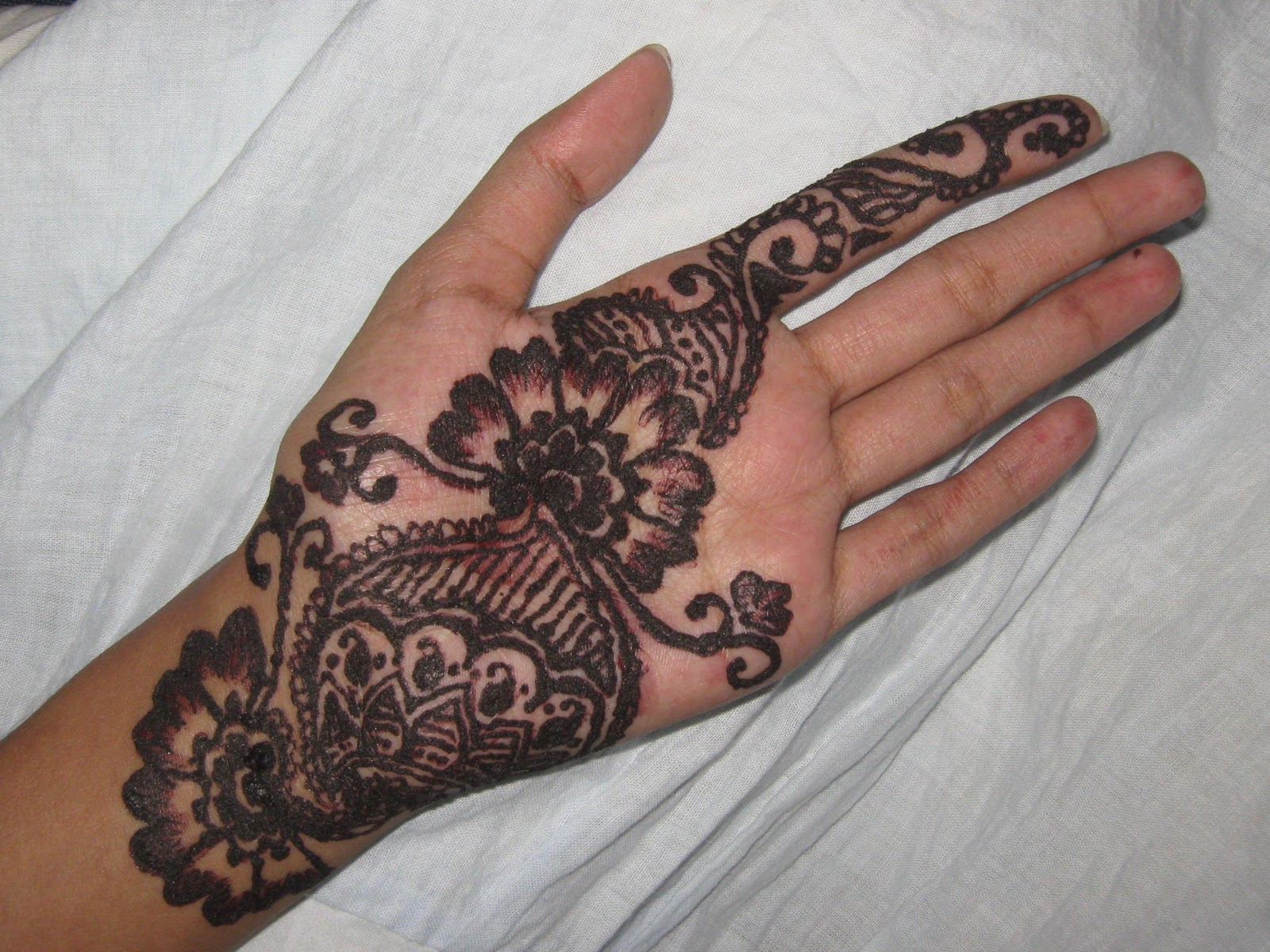 Henna Tattoo Designs Palm: Pages From My Diary: Henna Design: A Different Experience