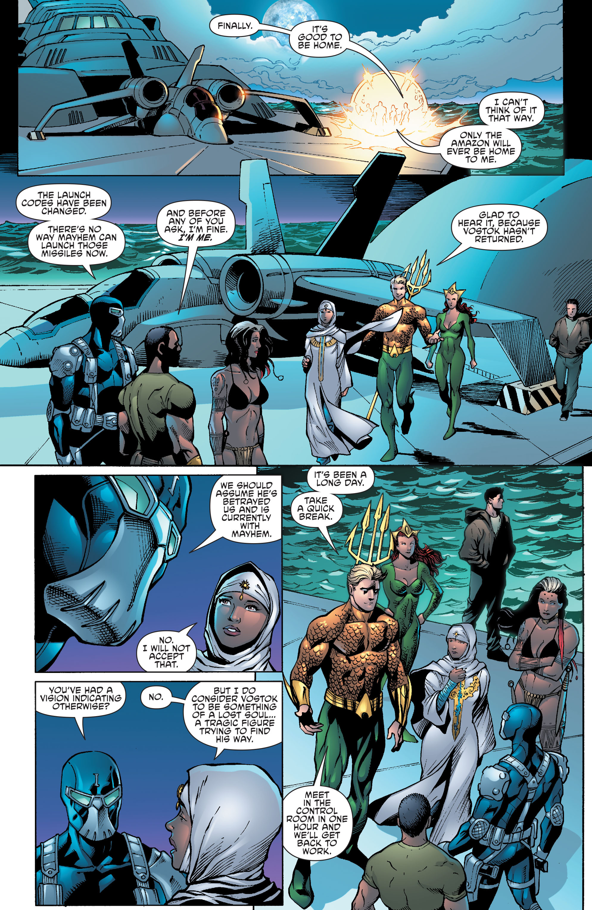 Read online Aquaman and the Others comic -  Issue #9 - 18