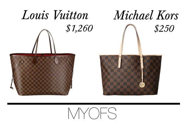 41405b94d413 MYOFS  Splurge or Save  Louis Vuitton vs Michael Kors