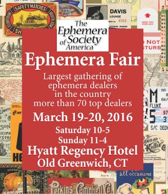 http://www.bookandpaperfairs.com/ephemera-fair