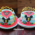 Birthday Cake Mickey Mouse Club - Abishna