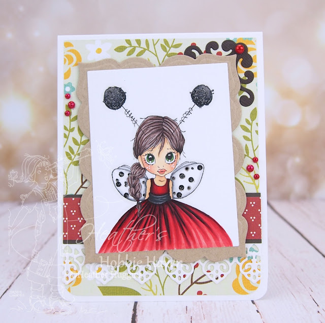 Heather's Hobbie Haven - Little Ladybug Card Kit