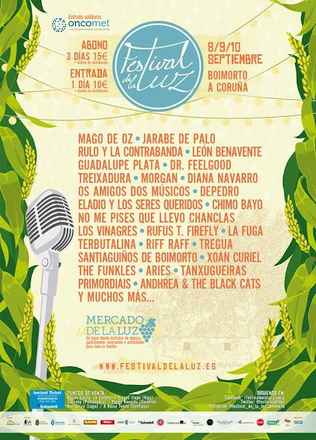 Cartel oficial Festival de la Luz 2017