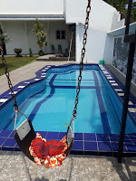Sewa villa di puncak cipanas, tipe resort 3 kamar kolam renang pribadi