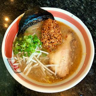 Spicy miso ramen at Ramen Ryoma