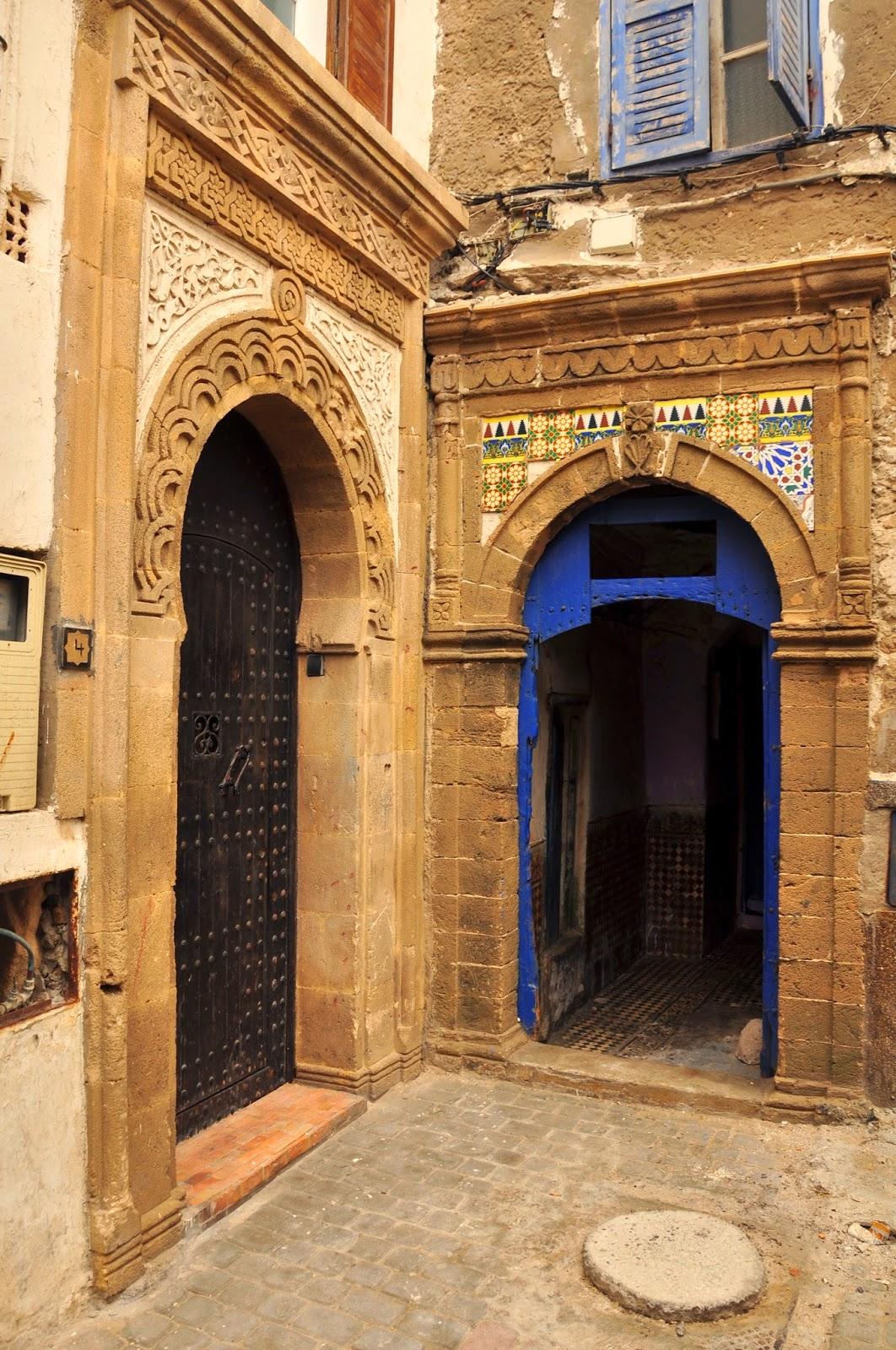 puertas con encanto en Marreucos