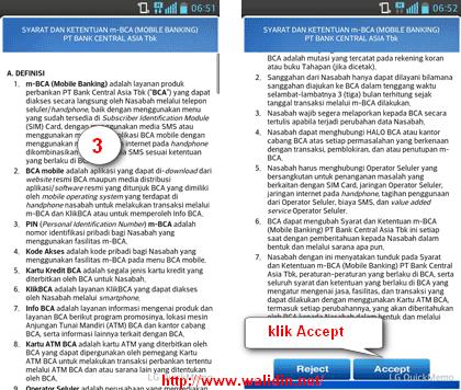 Cara Daftar Mobile Banking BCA mBCA dan Cara Aktivasinya ~ Walidin