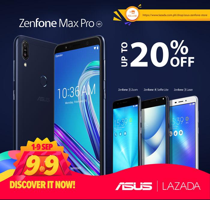d58362579f5 Asus Zenfone x Lazada 9.9 Sale - Laguna on Sale