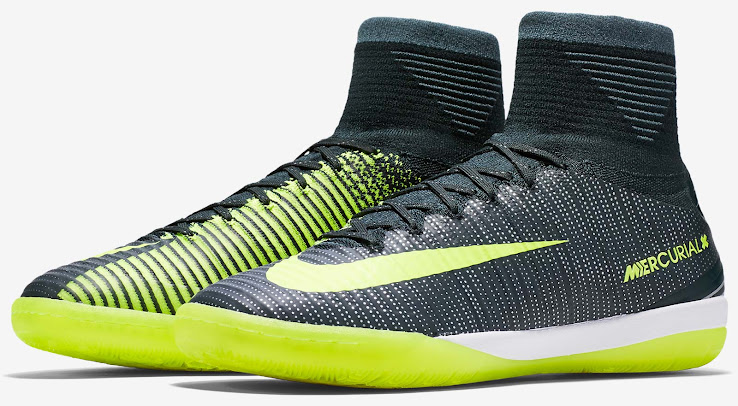 Nike's new Chapter 3 - Discovery Cristiano Ronaldo soccer boots will also  be released for the Nike MercurialX Proximo model, fit for the turf and  court ...