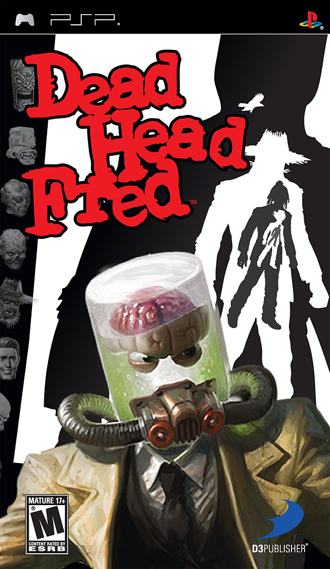 Dead Head Fred - PSP - ISO Download