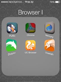 Browser Tercepat Dan Terbaik Untuk Iphone