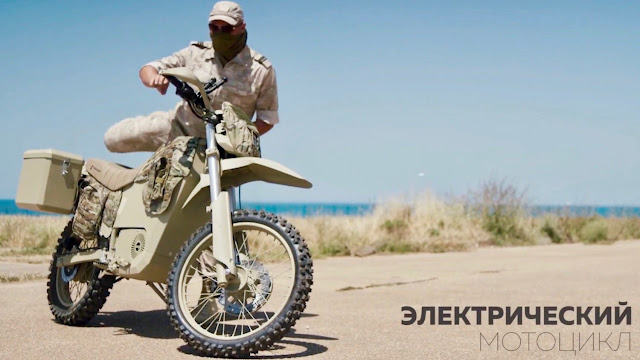 Kalashnikov build a silent, electric motorcycle for military and police use.