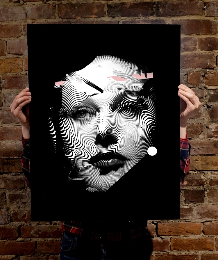 In collaboration with Mural Montreal,  2Alas just released a brand new limited edition silkscreen print.