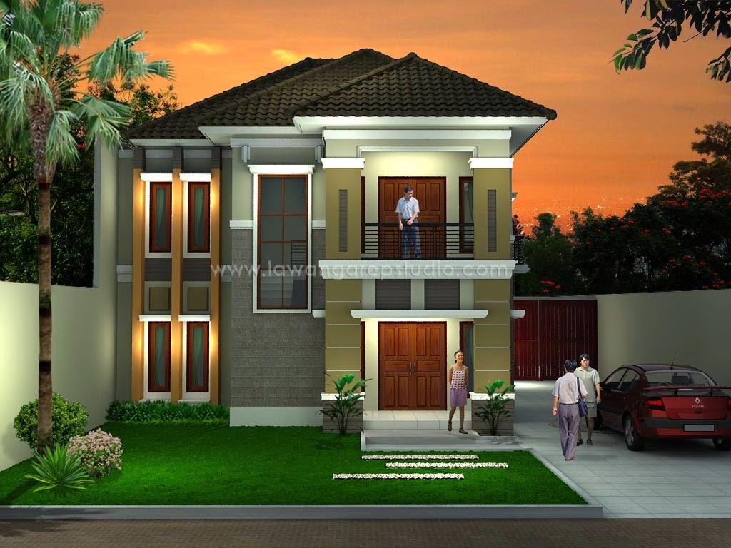 Desain Rumah Minimalis 2 Lantai Murah  Foto Desain Rumah