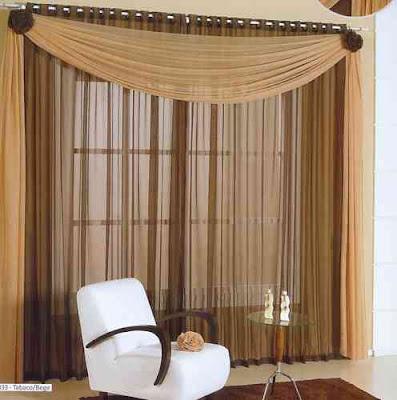 Disenyoss decoracion cortinas para nuestro salon for Cortinas blancas para salon