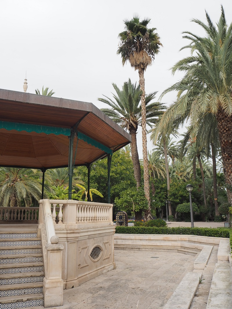 Bandstand in the municipal park, Elche