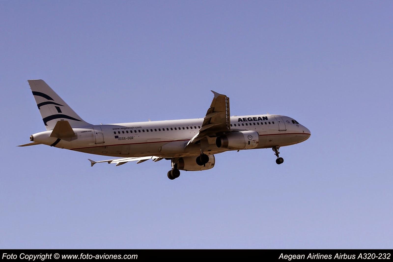 Airbus A320 / SX-DGR